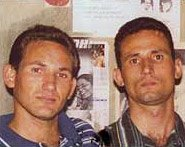 Luis Enrique and Jos� Daniel Ferrer Garc�a Cuba dissidents Varela project