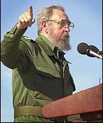 Fidel Castro enemy of freedom of speech