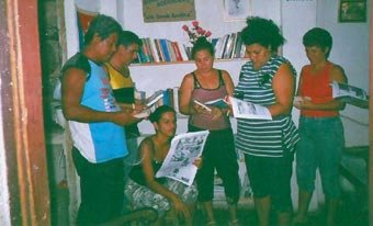 Independent library in Cuba
