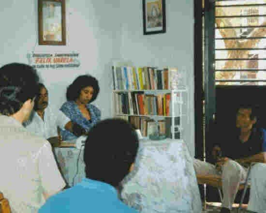 Independent libraries in Cuba