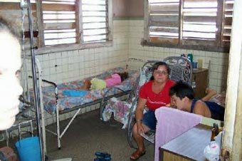 Children's hospital in Cuba
